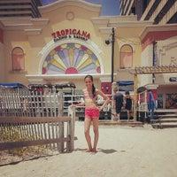 Photo taken at Tropicana Boardwalk by Liane C. on 7/8/2013