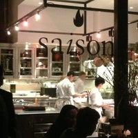 Photo taken at Saison by Shary T. on 3/13/2013