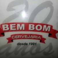 Photo taken at Bem Bom Cervejaria by Natália D. on 5/11/2013