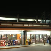 Photo taken at MBTA Malden Center Station by 🎀 Sara L. on 5/28/2013
