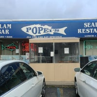 Photo taken at Popei's Clam Bar & Seafood Restaurant by Missy L. on 5/25/2013