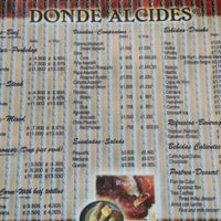 Photo taken at Donde Alcides by Arturo on 1/20/2013