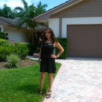 Photo taken at Boca Del Mar Country Club by Wendy Valdes R. on 6/18/2013