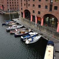 Photo taken at Premier Inn Liverpool Albert Dock by Meghan M. on 10/30/2012