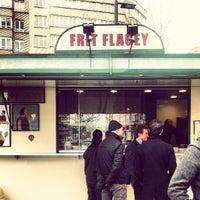 Photo taken at Frit' Flagey by Yelyam E. on 3/15/2013