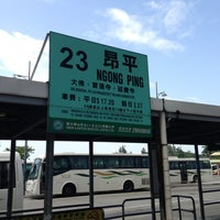 Photo taken at Tung Chung Station Bus Terminus by Siori ★. on 9/17/2013