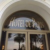 Photo taken at Hotel de Paris by Mauro M. on 9/2/2013
