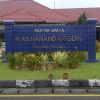Photo taken at H.A.S. Hanandjoeddin Airport (TJQ) by Miske M. on 7/14/2013