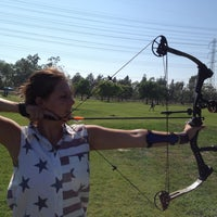 Photo taken at El Dorado Park Archery Range by Jessica R. on 5/11/2013