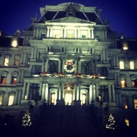Photo taken at Eisenhower Executive Office Building by Chris B. on 12/17/2012