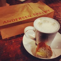 Photo taken at Andersen Bakery by Sunny P. on 1/24/2014