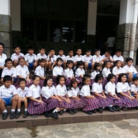 Photo taken at SD. Regina Pacis - Bogor by Carlos L. on 6/4/2013