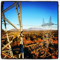 Photo taken at Western Area Power Administration/Flagstaff-Mead 345 kv Reconductor by Tim L. on 10/21/2013