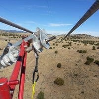 Photo taken at Western Area Power Administration/Flagstaff-Mead 345 kv Reconductor by Tim L. on 10/22/2013