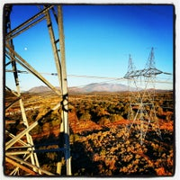 Photo taken at Western Area Power Administration/Flagstaff-Mead 345 kv Reconductor by Tim L. on 10/28/2013