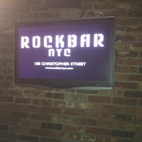 Photo taken at Rock Bar by Ben A. on 11/23/2012