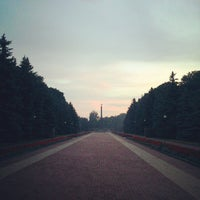 Photo taken at Мемориал Победы 1941-1945 by Ilya A. on 6/26/2013