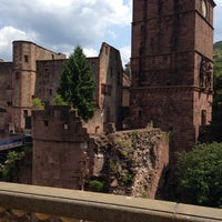 Photo taken at Heidelberger Schloss by Maxim Z. on 7/13/2013