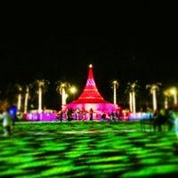 Photo taken at Centennial Square by Vishal M. on 12/24/2013