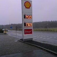 Photo taken at Shell by Nicole W. on 12/3/2012