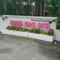 Photo taken at Patong Beach Hotel by Rafael P. on 5/16/2017