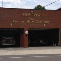 Photo taken at Moscow Volunteer Fire Department by Billy S. on 7/27/2013
