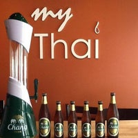 Photo taken at My Thai by My Thai on 7/29/2014