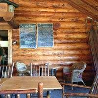 Photo taken at Lake Agnes Tea House by Paul B. on 10/5/2012