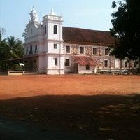 Photo taken at Seraulim Church by Sarvesh B. on 5/22/2013