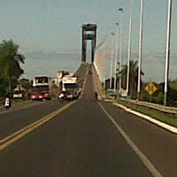 Photo taken at Puente General Belgrano by Lionel S. on 5/24/2013