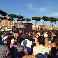 Photo taken at Piazza della Madonna di Loreto by Nima C. on 6/20/2014