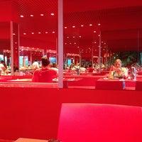 Photo taken at Kırmızı Restaurant by Natalie 💕 on 7/26/2013