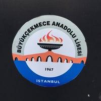 Photo taken at Büyükçekmece Anadolu Lisesi by Aysegul on 1/29/2017