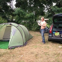 Photo taken at Camping Fort Oranje by Eelco v. on 8/17/2013