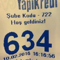 Photo taken at Yapı Kredi Bankası by Efe Erhan on 2/10/2016
