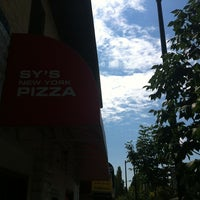 Photo taken at Sy's New York Pizza by Dave C. on 8/11/2013