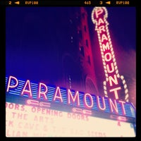 Photo prise au Paramount Theatre par Dave C. le4/7/2013