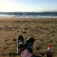 Photo taken at Playa San Antonio by Axel A. on 6/2/2013