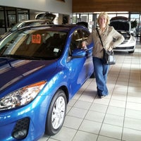 Photo taken at Park Mazda by Andrea C. on 10/13/2012