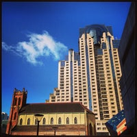 Photo taken at San Francisco Marriott Marquis by chuckdafonk F. on 4/15/2013