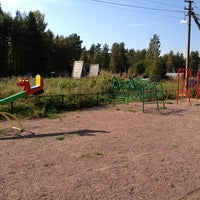 Photo taken at Детская площадка в Васкелово by Екатерина П. on 9/8/2013