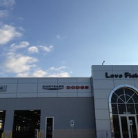 Photo taken at Love Field Chrysler Dodge Jeep Ram Service Center by Justin A. on 5/9/2013