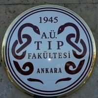 Photo taken at Ankara Üniversitesi Tıp Fakültesi Morfoloji Binasi by Ercan T. on 5/25/2013