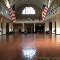 Photo taken at Ellis Island by Jason R. on 10/17/2012