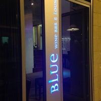 Photo taken at Blue Wine Bar by Mina C. on 9/21/2013