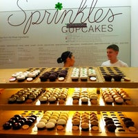 Photo taken at Sprinkles Cupcakes by Sandy W. on 3/9/2013
