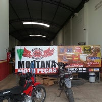 Photo taken at Montana Moto-Peças by Marcilio F. on 5/22/2013