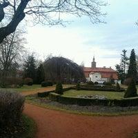 Photo taken at Zámecká zahrada Chrast by Diana L. on 3/2/2014