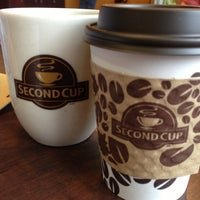 Photo taken at Second Cup by Colin G. on 5/10/2013
