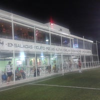 Photo taken at Futbol 7 Merida Center by Nelson Alonso Q. on 5/11/2013